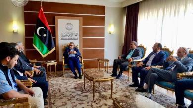 """المشري يلتقي رئاسة هيئة العليا لتجمع """"ثوار فبراير"""""""