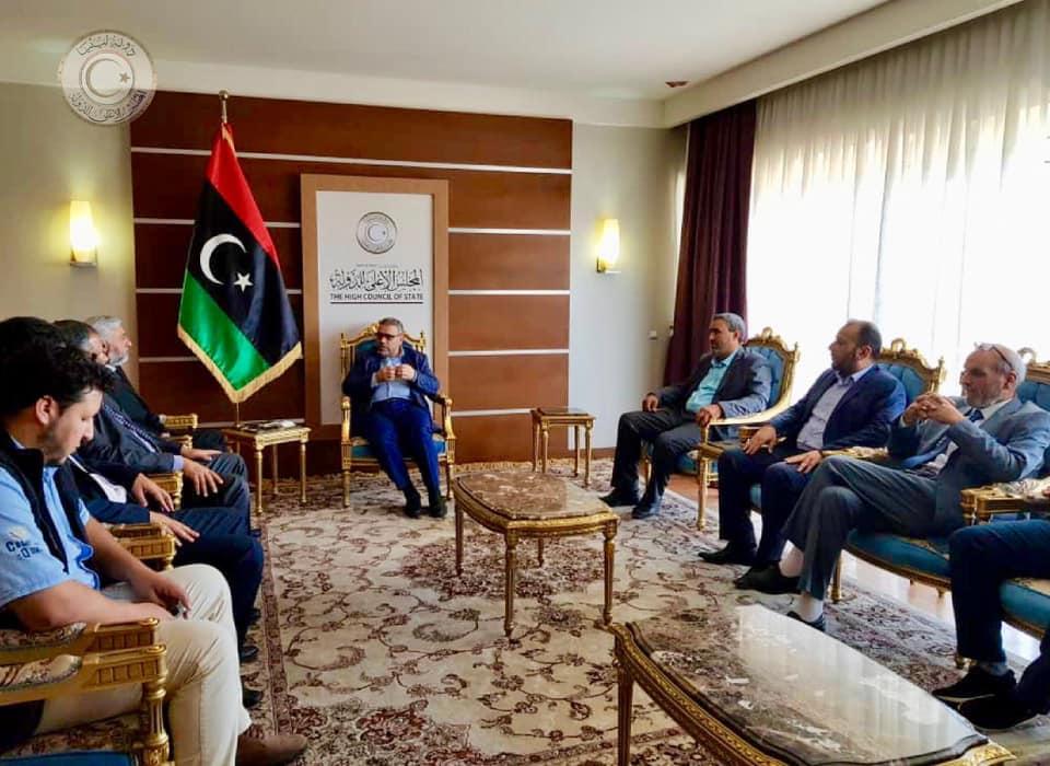 Image result for المشري التجمع الوطني لثوار 17 فبراير