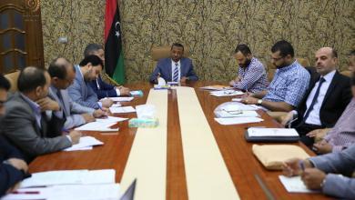 Photo of الثني يناقش تقرير أداء الهيئة العامة للمواصلات والنقل