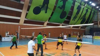 صورة استمرار بطولة قدامى الكرة الطائرة بطرابلس