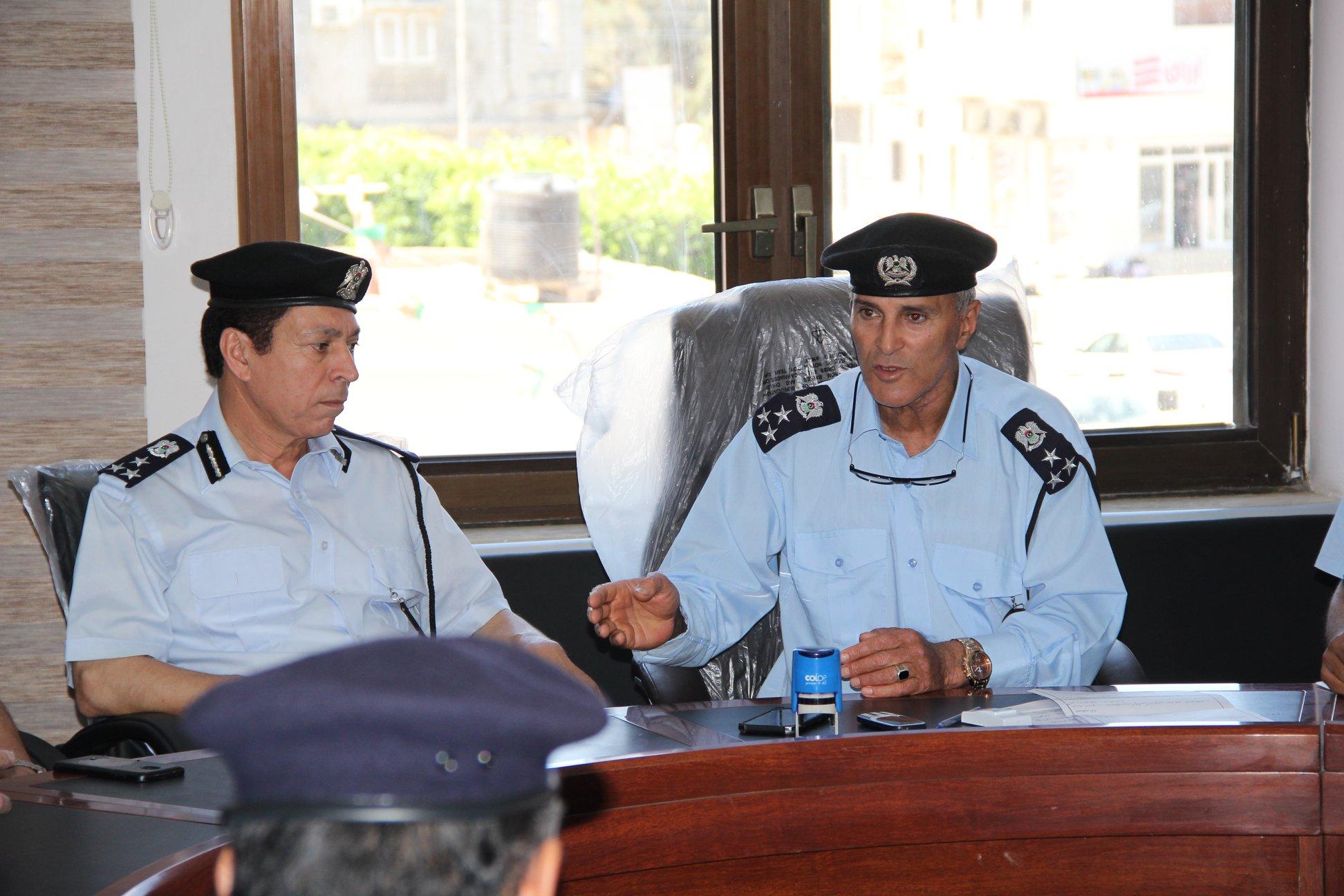 مديرية مصراتة تضع خطة لتأمين المدينة