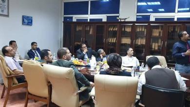 Photo of بحث تنفيذ خطة تطوير لمستشفيات بنغازي