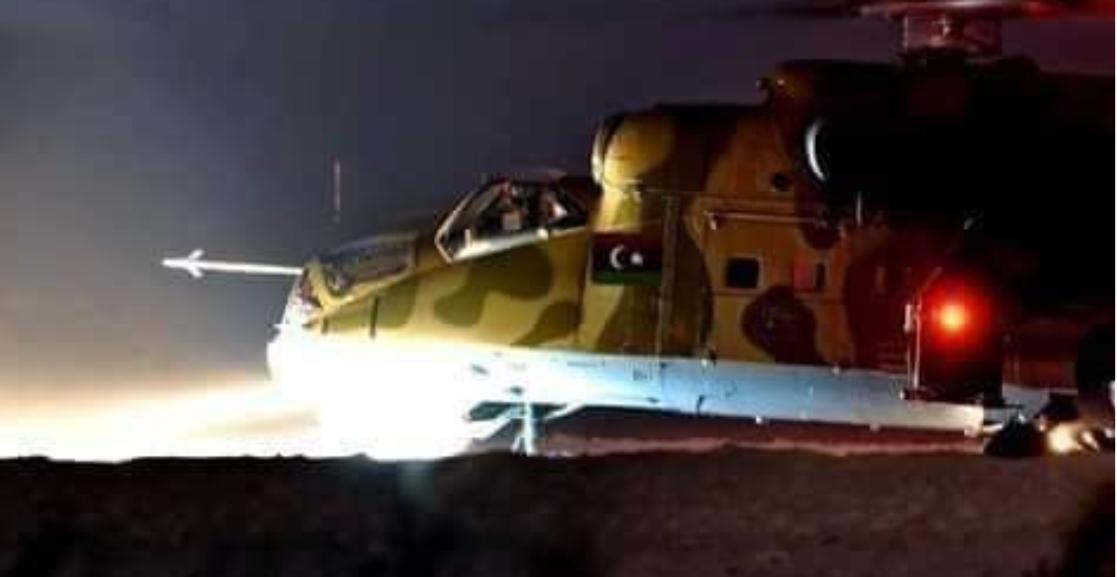 الجيش الوطني يُسقط طائرة تابعة لحكومة الوفاق