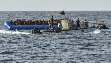 إنقاذ 133 مهاجرا في ليبيا حاولوا الوصول إلى إيطاليا