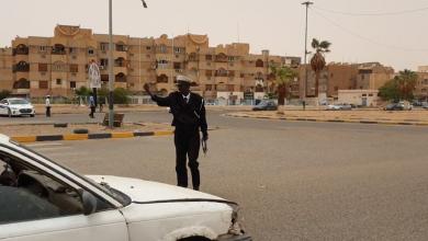تكريم شرطي مرور -سبها