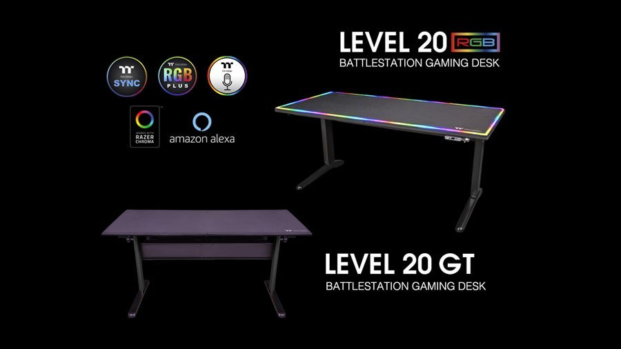 BattleStation RGB Gaming Desk