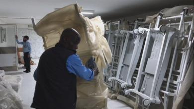 Photo of وصول شحنة تجهيزات لمركز طبرق الطبي