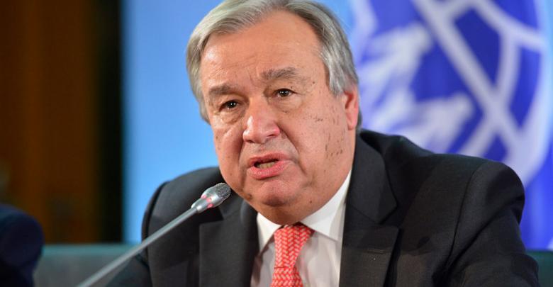 غوتيريش يعرب عن قلقه إزاء الأوضاع في ليبيا
