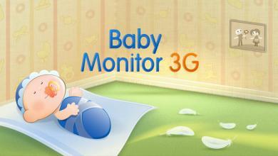 Photo of راقب نوم أطفالك من خلال تطبيق Baby Monitor 3G