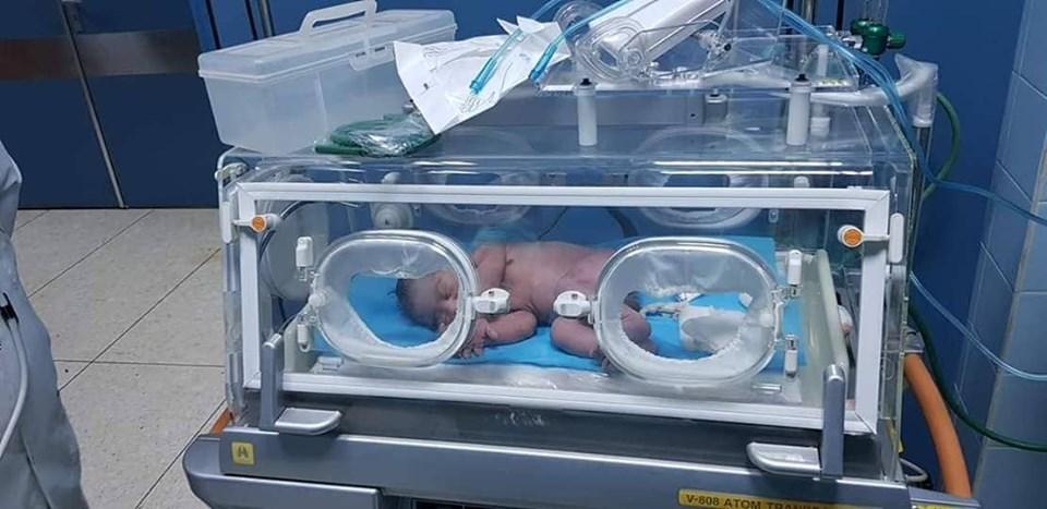 أول ولادة قيصرية في مستشفى توكرة القروي
