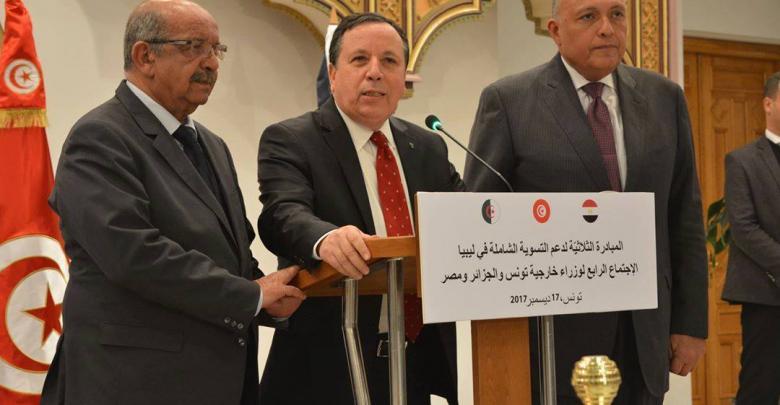 اجتماع ثلاثي لدول جوار ليبيا