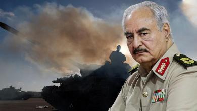 اشتباكات طرابلس - خليفة حفتر