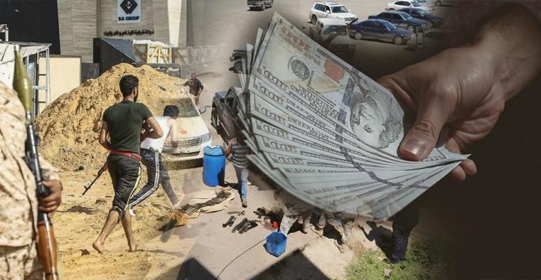 اشتباكات طرابلس - نقود - ميليشيات