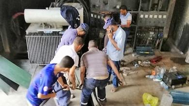 Photo of اعتداء بالضرب على موظفي شركة الكهرباء