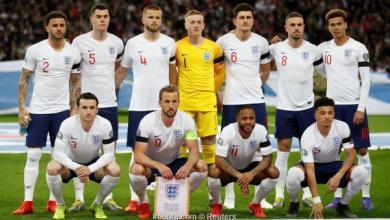 """صورة المنتخب الإنجليزي ثالثا بـ""""الأمم الأوروبية"""""""