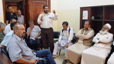Photo of أعيان اجدابيا يبحثون تحسين خدمات الكهرباء