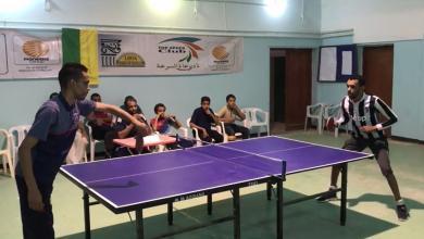 نادي الصمود غدامس ينهي بطولة تنس الطاولة