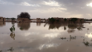 Photo of الهلال الأحمر يحذر أهالي غات من السيول
