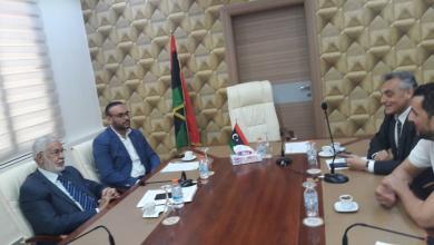 سيالة يلتقي السفير الإيطالي في ليبيا