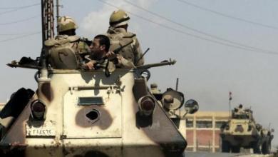 صورة مقتل 4 إرهابيّين شمال سيناء