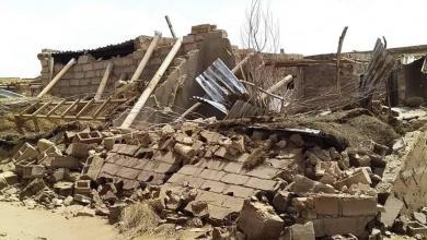 """Photo of قوافل الإغاثة تتدفق إلى """"غات المنكوبة"""""""