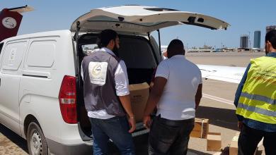 صورة اجتماع طارئ لتسيير قافلة إغاثة من تراغن إلى غات