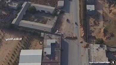 Photo of الجيش الوطني يقصف قوات الوفاق في وادي الربيع