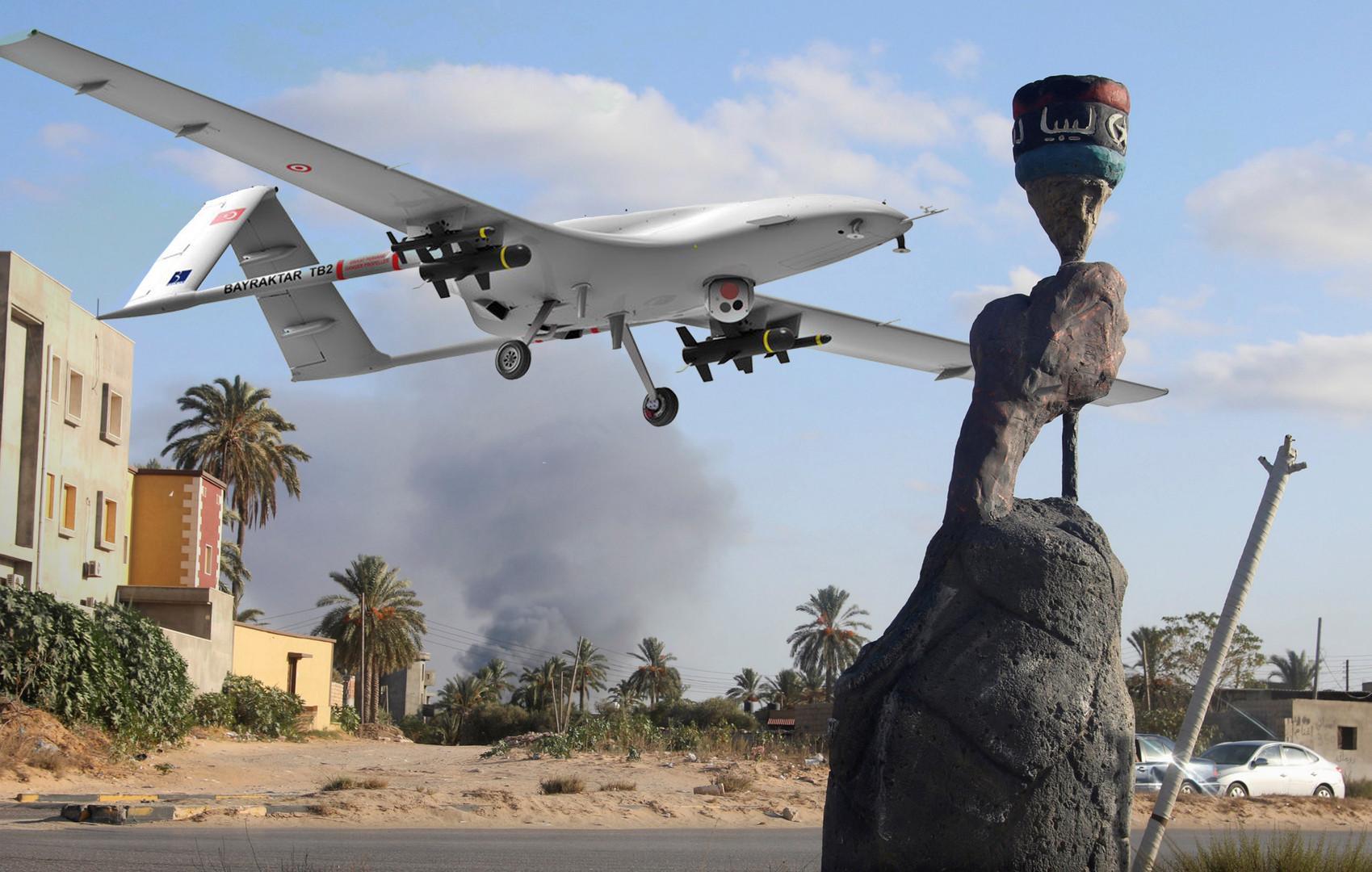 ليبيا - طائرات تركية