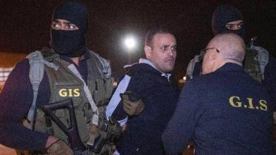 لحظة استلام الأمن المصري هشام العشماوي - أرشيفية