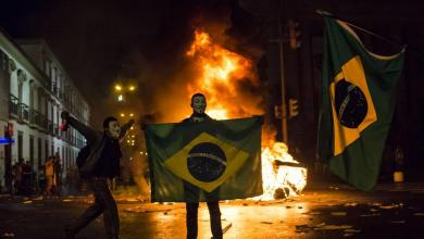 "Photo of ""شغب الجمهور"".. لعنة تطارد البرازيل"