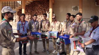 Photo of كشافة البيضاء يطلقون حملة تبرعات لـ غات