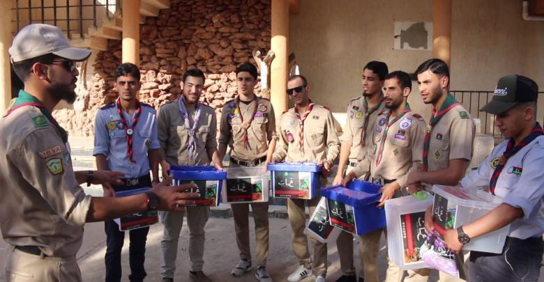 مفوضية كشاف البيضاء تنظم حملة تبرعات لصالح متضرري الفيضانات بمدينة غات