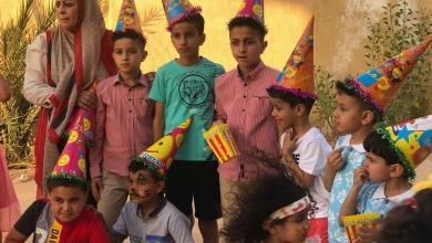 Photo of يوم ترفيهي بحي الأندلس لأطفال النازحين