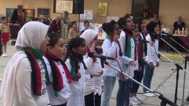 من فقرات احتفالية انتهاء العام الدراسي لمدرسة الصديقة الإعدادية - الليثي،بنغازي