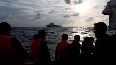 """Photo of القبض على """"أجانب"""" متسللين في المياه الليبية"""