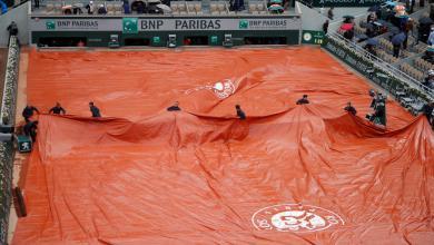 Photo of الأمطار توقف مباراة دجوكوفيتش وثيم