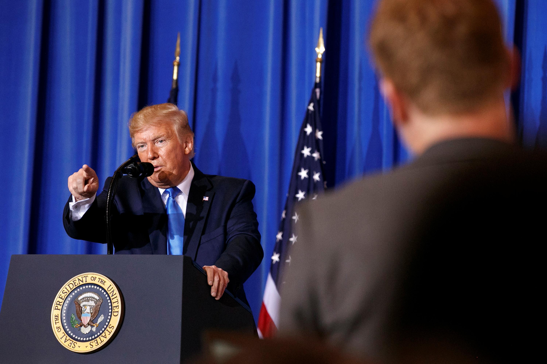 الرئيس الأميركي دونالد ترامب - قمة العشرين