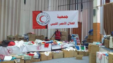 إمداد أسر نازحة من طرابلس باحتياجات العيد