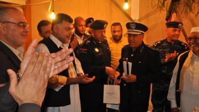 Photo of وكيل وزارة الداخلية يزور مديرية أمن طرابلس
