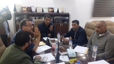 "Photo of اجتماع ""أمني"" في ""بنغازي"" استعدادا لعيد الفطر"