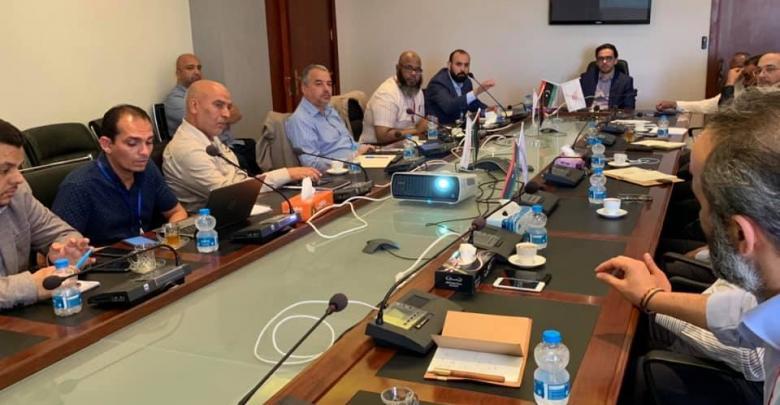 اجتماع الشركة القابضة للاتصالات - طرابلس