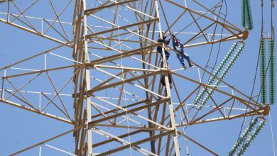 Photo of صيانة الشبكة الكهربائية جنوب طرابلس
