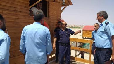 "Photo of زيارة مدير ""أمن السواحل"" لمدينة ""سرت"""