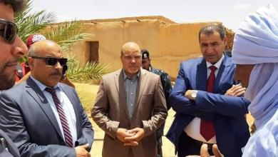 "Photo of وفد من ""المؤقتة"" يصل غات لتفقد احتياجاتها"