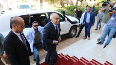 الممثل الخاص للأمين العام غسان سلامة - بنغازي