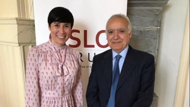 لقاء الممثل الخاص للأمين العام في ليبيا غسان سلامة مع وزيرة خارجية النرويج اريكسون سوريد