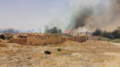 """Photo of حريق في بلدة الجوش.. ومخاوف من """"الأخطر"""""""