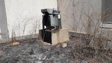 """صورة """"الكهرباء"""" تعلن إصابة محطة """"30 المدفعية"""" (صور)"""