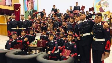 صورة تخريج 60 ضابطا من الكلية الملكية