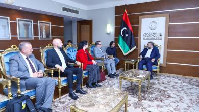 """Photo of """"المشري"""" يستضيف وفدا """"مالطيا"""" في طرابلس"""